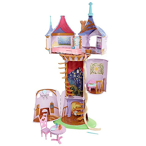 Tangled Rapunzel's Tower Play Set