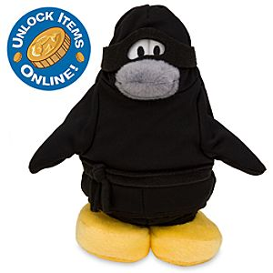 Club Penguin 6 1/2 Limited Edition Penguin Plush - Ninja