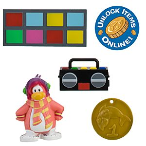 Club Penguin 2 Mix N Match Figure Pack - Cadence (Rare)
