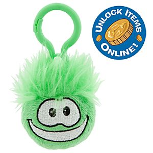 Club Penguin 2 Plush Puffle Clip On - Green