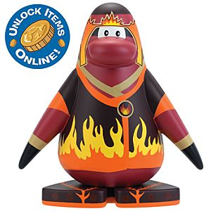 5 1/2 Club Penguin Vinyl Figure -- Fire Ninja