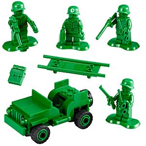 Army Men on Patrol Toy Story Lego Set