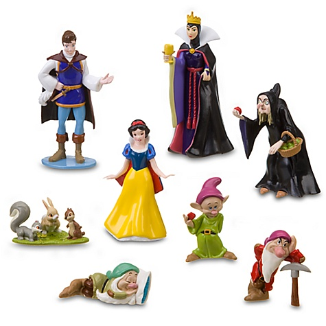 Snow White and the Seven Dwarfs Figure Play Set -- 8-Pc.