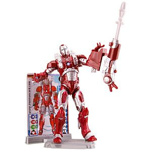 Inferno Mission Armor Iron Man 2 Action Figure -- 3 3/4