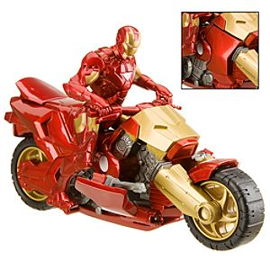 Iron Man 2 Armor Cycle and Action Figure -- 3 3/4