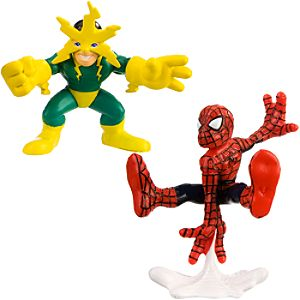 Super Hero Squad -- Spider-Man and Electro Action Figures