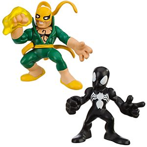 Super Hero Squad -- Spider-Man and Iron Fist Action Figures