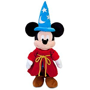 Fantasia Sorcerer Mickey Mouse Plush Toy -- 24 H