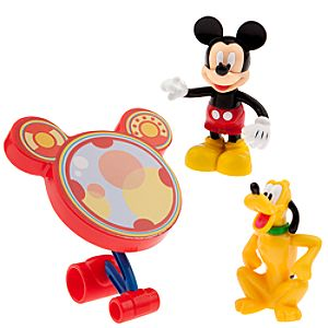 Mickey Mouse Clubhouse 2-Pc. Figure Set -- Mickey Mouse and Pluto
