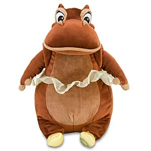 Fantasia Hyacinth Hippo Plush Toy -- 12