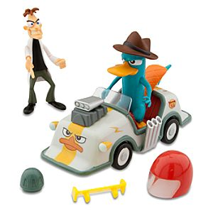 Phineas and Ferb: Ferb My Ride -- Agent Ps Hovercraft