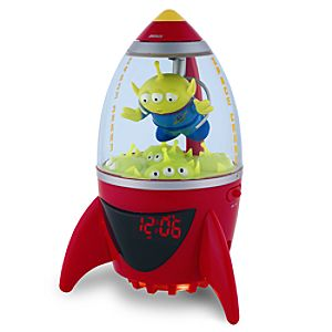 Toy Story Little Green Alien Clock Radio