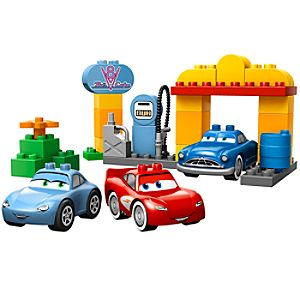 Flos Station Cars Lego Duplo Play Set