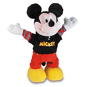 Pre-Order Dance Star Mickey Mouse Plush Toy by Fisher Price