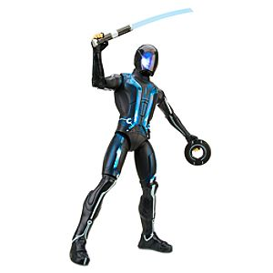 TRON Legacy: Light-Up Deluxe Sam Flynn Action Figure -- 12