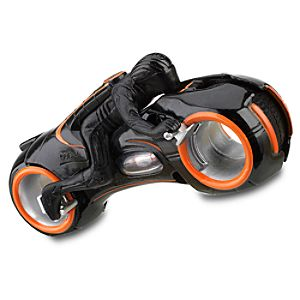 TRON Legacy Die Cast Clus Sentry Light Cycle -- 3