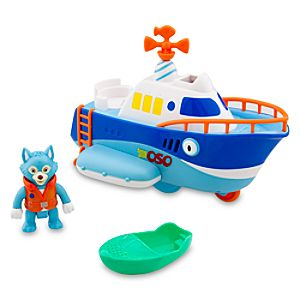 Special Agent Oso Wolfies Motor Boat -- 3-Pc.