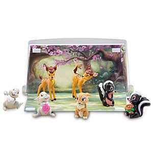 Bambi Figure Play Set -- 7-Pc.