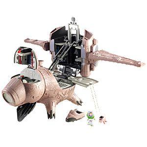 Toy Story 3 Porkchop Spaceship vs Buzz Lightyear Play Set