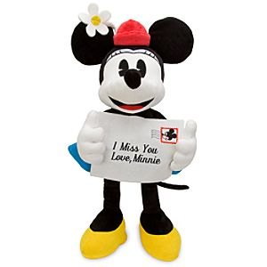 Personalized Minnie Mouse Plush Toy -- 16