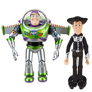 Pre-Order Limited Edition Talking Woody and Buzz Lightyear Action Figure Set -- 2-Pc.