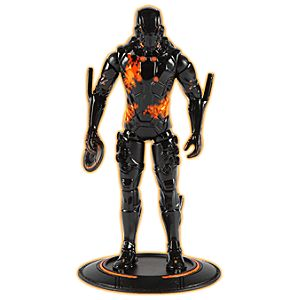 Light Up Black Guard TRON Action Figure -- 3