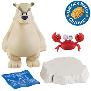 Club Penguin 2 Mix N Match Figure Pack -- Herbert P. Bear, Esquire and Klutzy the Crab