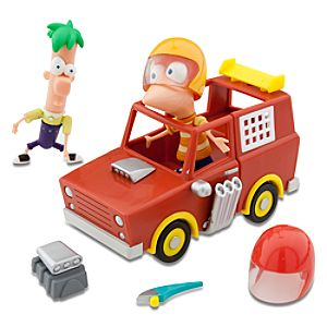 Phineas and Ferb: Ferb My Ride -- Moms Car Racer