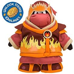 Club Penguin 6'' Limited Edition Penguin Plush -- Fire Ninja