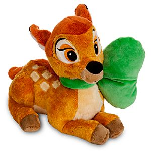 Easter Bow Bambi Plush