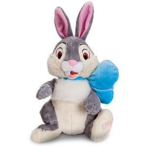 Easter Bow Thumper Plush