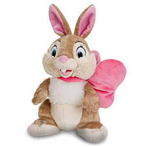 Easter Bow Miss Bunny Plush