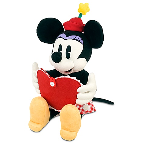 Personalized Valentine's Day Minnie Mouse Plush -- 10''
