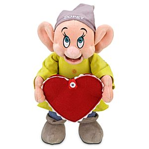 Personalized Valentines Day Dopey Plush -- 12