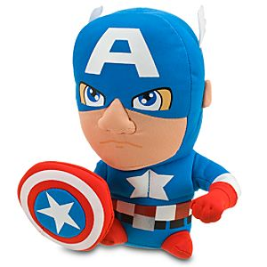 Super Deformed Captain America Plush -- 7