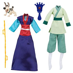 Mulan Accessories Set -- 5-Pc.