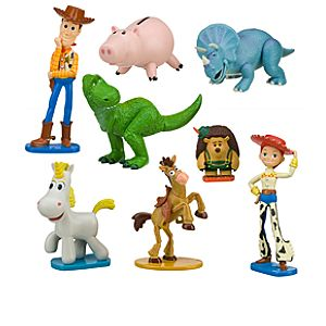 Toy Story 3 Heroes Figure Play Set -- 8-Pc.