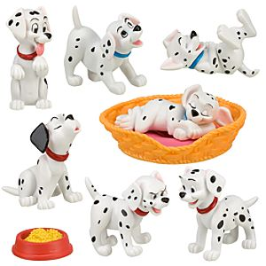 101 Dalmatians Figure Play Set -- 9-Pc.