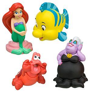 Ariel Bath Toy Play Set -- 4-Pc.