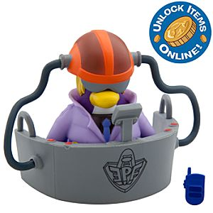 Club Penguin Mix N Match Figure Pack -- 2 H -- Dot the Disguise Gal