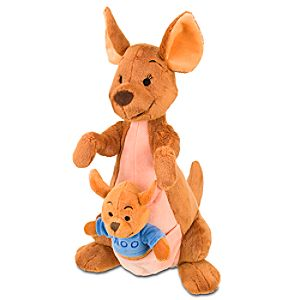 Kanga and Roo Plush Toy -- 14 1/2 H