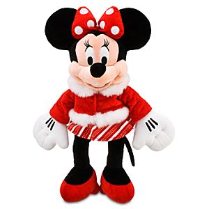 Holiday Minnie Mouse Plush -- 17