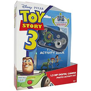 Pix Click Toy Story 3 Digital Camera Plus Photo Activity Kit
