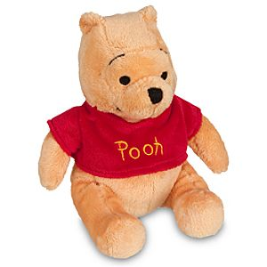 Winnie the Pooh Plush Mini Bean Bag Toy -- 7
