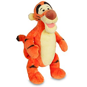Mini Bean Bag Tigger Plush Toy -- 7 H