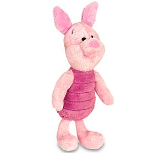 Mini Bean Bag Piglet Plush Toy -- 7 H