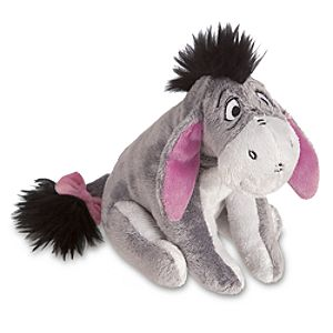 Mini Bean Bag Eeyore Plush Toy -- 7 H