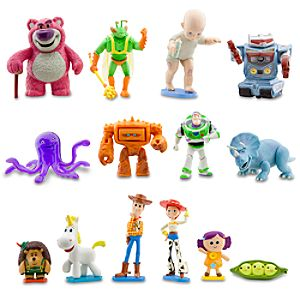 Toy Story 3 Deluxe Figure Play Set -- 14-Pc.
