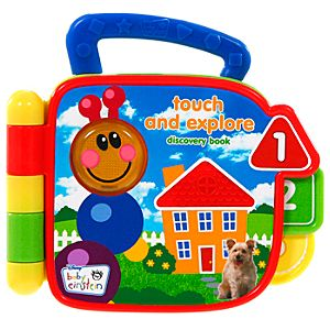 Baby Einstein Touch and Explore Discovery Book