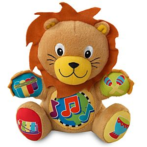Baby Einstein Lion Plush Press and Play Pal